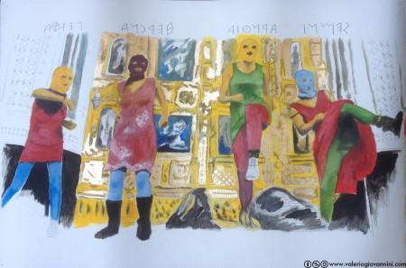 ValerioGiovanniniSemniArnthiaHercnaPevtha765x560oilpencilandgoldenleafonpaper2013